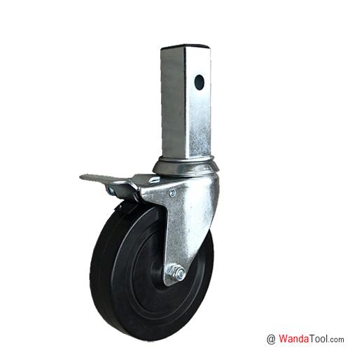 方管式脚手架脚轮