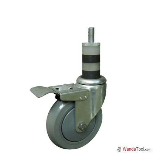 膨胀杆聚氨酯TPU脚手架脚轮